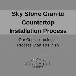 Countertop Installation Process